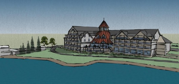 Rockland Harbor Park LLC is proposing building a 65-room hotel on the nearly 10 acres it owns on the city's waterfront.
