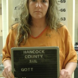 Ellsworth woman held without bail after allegedly threatening to torch officer's home