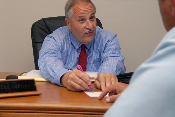Lee Academy Headmaster Gus LeBlanc