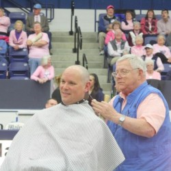 UMaine women's basketball coach will shave his head as part of cancer fundraising effort