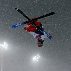 Olympic ski jumping: Germany beats Austria in thrilling team event