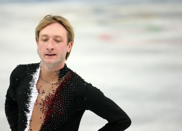 Russia''s Evgeny Plushenko withdraws from the men's short program figure skating at the Iceberg Skating Palace during the Winter Olympics in Sochi, Russia, Thursday, Feb. 13, 2014.