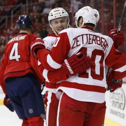 Streaking Nyquist trying to help Red Wings extend playoff appearance run