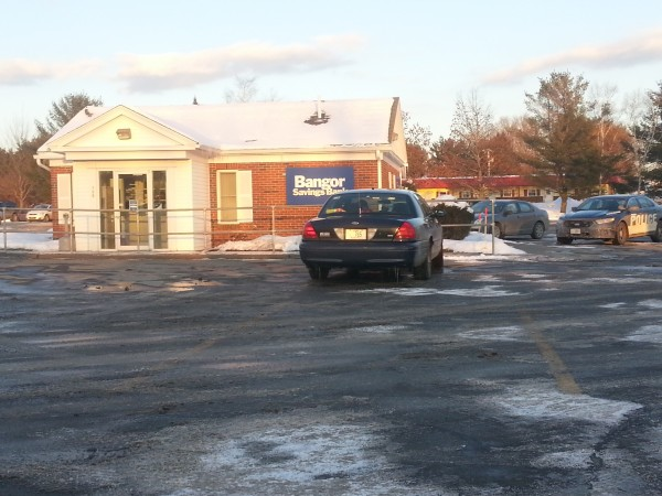 A Bangor Savings Bank on Somerset Avenue in Pittsfield was robbed by a lone man on Friday afternoon.
