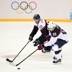 Crosby headlines Canada's ice hockey team for Sochi