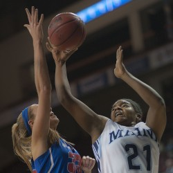 Bodine propels Maine women's basketball team by UMass Lowell for 10th win