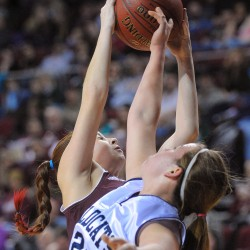 Top-seeded Presque Isle girls roll to semifinal showdown against Foxcroft