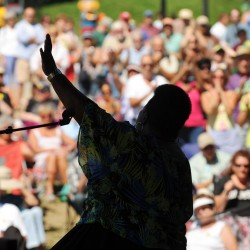 American Folk Festival organizers hope to meet financial goals again this year