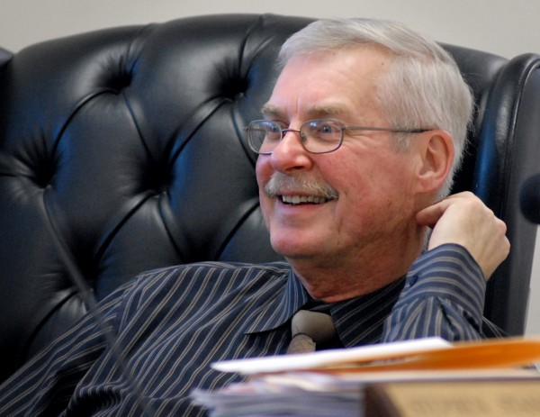 A November 2012 file photo of Rep. Steve Stanley. He crafted a bill that would create a cold case squad for unsolved murders.