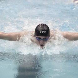 Despite opening error, Bangor wins sixth straight state swimming title