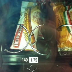 "A Philly Steak & Cheese Hot Pocket is seen in a vending machine in Bangor. Philly Steak & Cheese Hot Pockets were recalled because of concerns over ""diseased and unsound animal"" contents."
