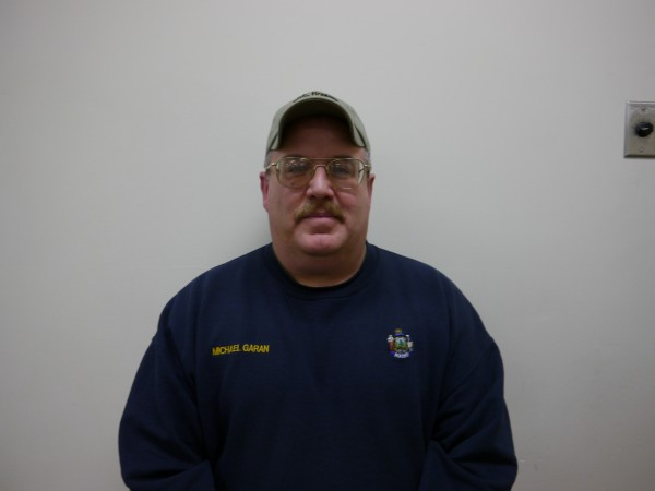 Photo of Michael Garan, Courtesy of the Maine Department of Corrections