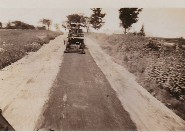 This photo captures the construction of early roadways in Maine. George Barrett will discuss the logistics of transportation prior to roads and bridges in his illustrated talk at 1 pm, Saturday, Feb 22 at the Owls Head Transportation Museum.