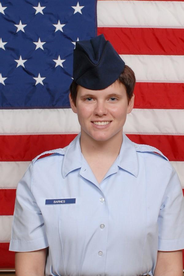 Air Force Airman Amanda K. Barnes