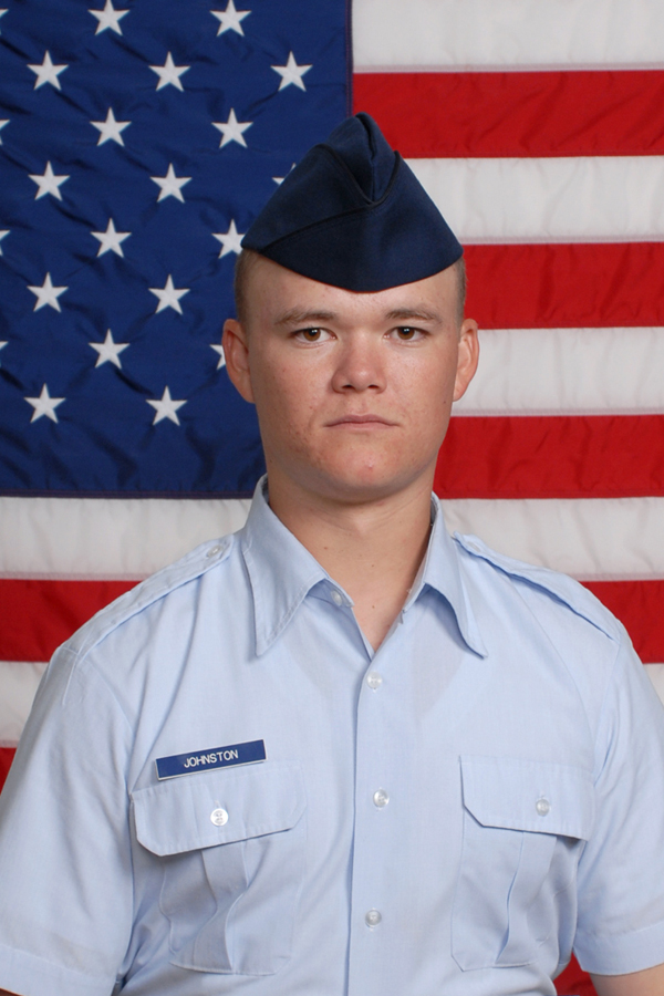Air Force Airman Benjamin M. Johnston