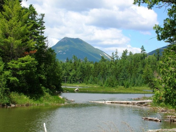 Lovely view of Baxter State Park, courtesy of Carey Kish