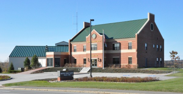 The 30,000-square-foot Brewer Public Safety Building that Nickerson & O'Day finished in 2008 houses the city police and fire departments on Parkway South.