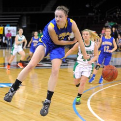 Washburn girls take third straight Eastern Maine 'D' basketball championship