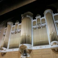 Facade of the Kotzschmar Organ.