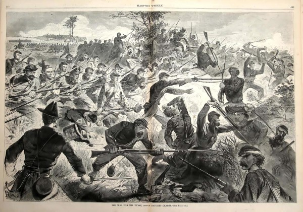 Artist Winslow Homer drew a highly detailed illustration of infantrymen charging opposing infantry on a Civil War battlefield. At the northeastern tip of Matagorda Island on the Texas Gulf Coast, Maine soldiers attacked a similar Confederate position in late November 1863 — only to find that the fort's defenders had abandoned their posts.