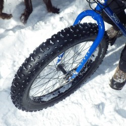 Big wheels are becoming more popular for mountain bikers