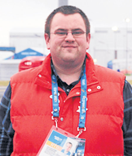 Kevin Bickford, a 2010 graduate of the New England School of Communications, worked for EVS during the 22nd Winter Olympic Games recently held in Sochi, Russia. He helped supply NBC and its broadcast affiliates with televised sports coverage.