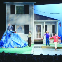 'One Blue Tarp' is charming, witty, funny show for Penobscot Theatre