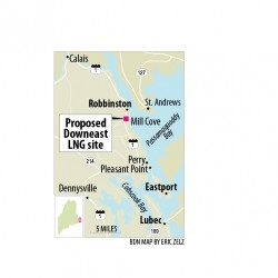 Downeast LNG adversary asks feds to dismiss Robbinston terminal permit request