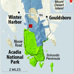 N.H. firm airs plans for Schoodic property; biking, hiking trails, camping possible