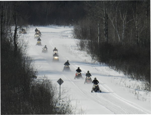 2014 SNO-RUN charity event benefits youth sexual assault victims in Aroostook County. Photo by Sign Place.