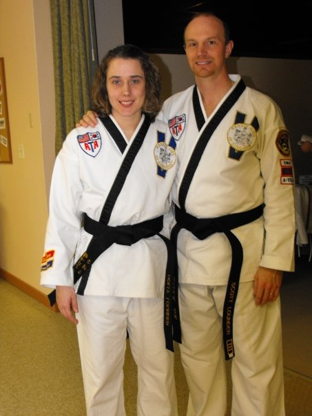 Scott and Holly Lounder, Owners of Ellsworth ATA martial Arts Academy, Suffering Late Stage Chronic Lyme Disease.