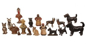 Group of doorstops to be sold at Thomaston Place Auction Galleries on March 29 & 30