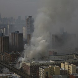 Eight dead after New York City blast, building collapse