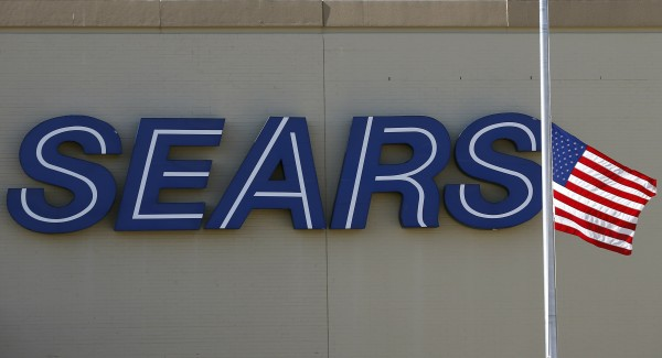 A Sears store is seen near Chicago.