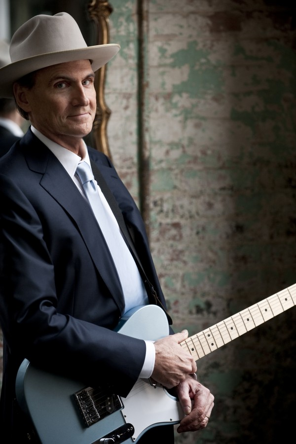 James Taylor will play at the Cross Insurance Center on July 13, 2014.