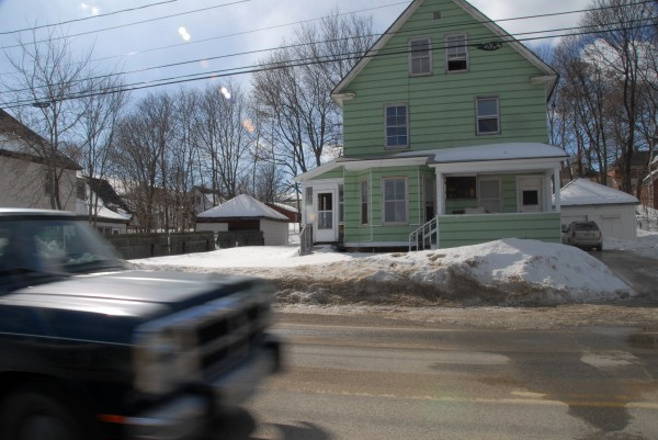 This property at 100 Katahdin Ave., as seen on Monday, March 3, 2014, is among 25 tax-acquired buildings that Millinocket officials hope to sell in April.