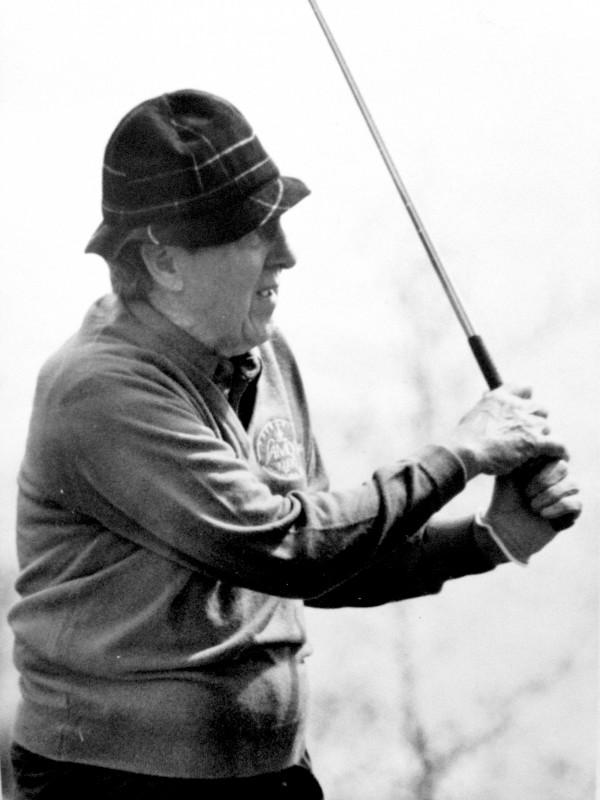 Edmund Muskie. May 23, 1989