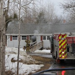 Fire severely damages Freedom home