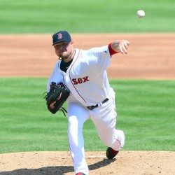 Lackey stifles Orioles; Sox clinch playoff berth