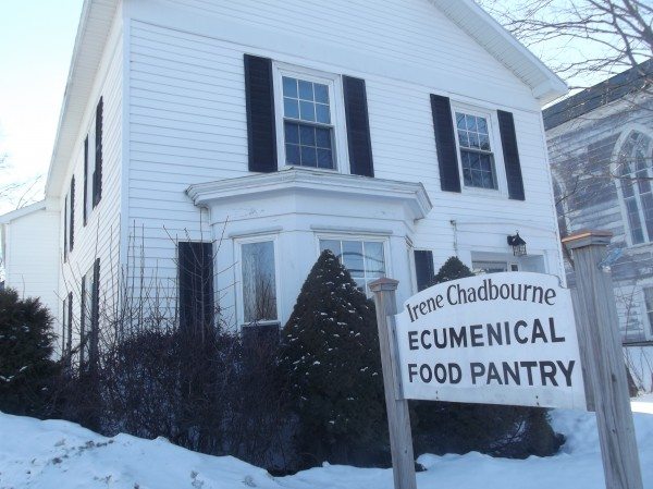 The Irene Chadbourne Ecumenical Food Pantry in Calais is contained in a house that was constructed in 1844. The organization is seeking to raise $30,000 for an addition to the building.
