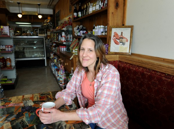 Joan Hayward is running the Monroe General Store that opened two weeks ago on Route 139 in  Monroe. The store offers a variety of groceries, meats, produce, a deli, pizza, breakfast, local beer and wines, and more.