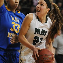 Presque Isle's Guerrette, Waynflete's Veroneau lead finalists for Miss Maine Basketball