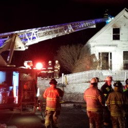 Man displaced by Ellsworth fire takes own life; blaze deemed suspicious