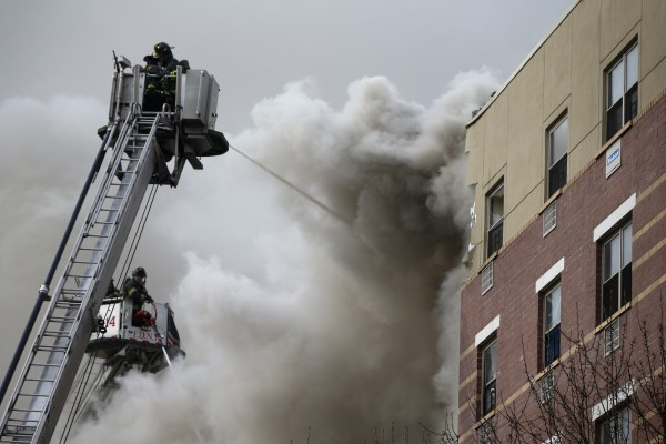 Explosion attributed to gas leak kills 2 in NYC
