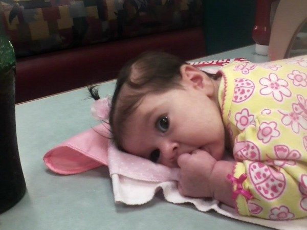 Three-month-old Brooklyn Foss-Greenaway of Clinton died July 8, 2012, while under the care of a baby sitter in Fairfield.