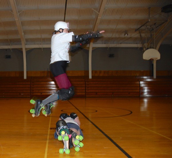 It takes a certain level of skill, athleticism and fearlessness to participate in roller derby. The ladies in the Aroostook Roller Derby League possess all of that.