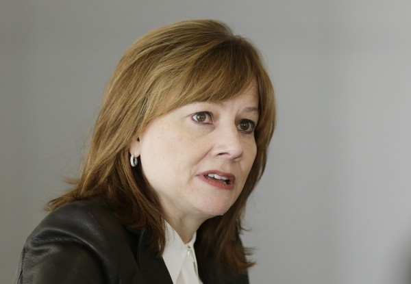 General Motors Co.'s chief executive Mary Barra.  GM issued several recalls Friday.