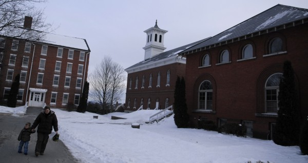 A former site of the Bangor Theological Seminary.