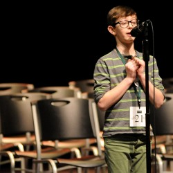 Brooklin boy wins state spelling bee with 'crambo,' heading to Scripps National Spelling Bee