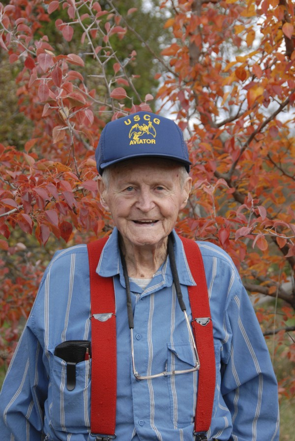 Captain Lester Slate of Exeter is a retired U.S. Coast Guard pilot; he also flew with the Navy in the Pacific during World War II.